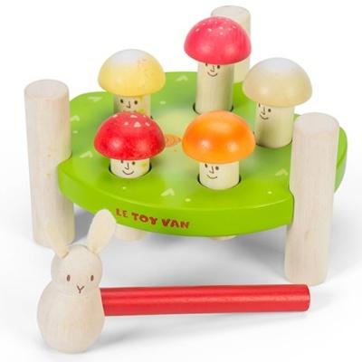 Le Toy Van Hammer Game Mr Mushrooms - Le Toy Van Hammer Game Mr Mushrooms