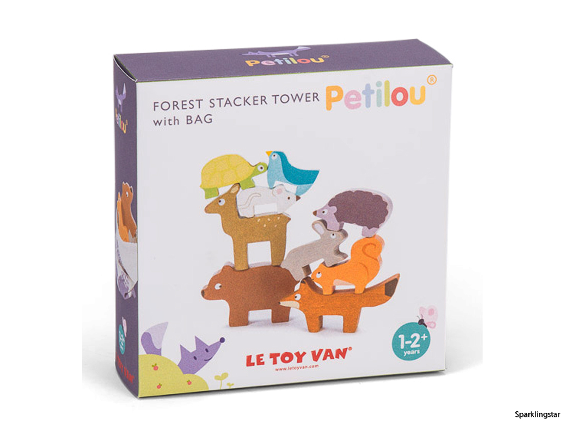 Le Toy Van Forest Stacker Tower