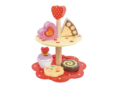 Le Toy Van Two Tier Cake Stand - Le Toy Van Two Tier Cake Stand