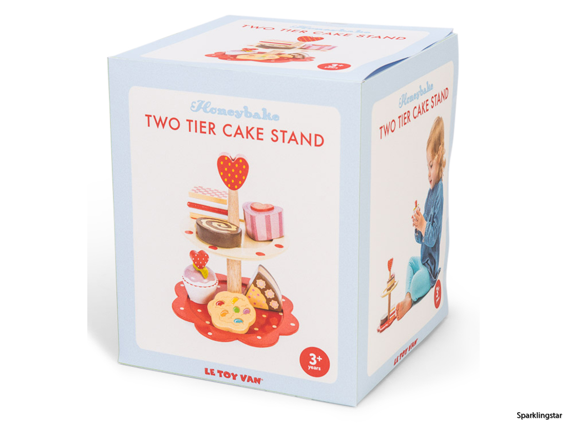 Le Toy Van Two Tier Cake Stand