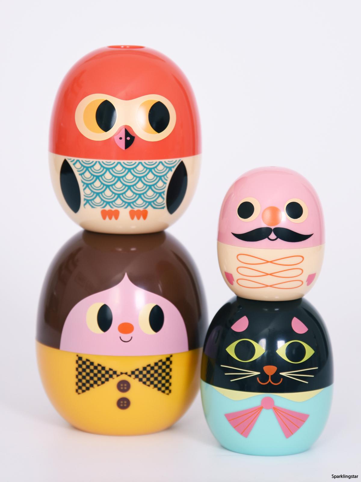 Omm Design Studio Matryoshka Babyoshka