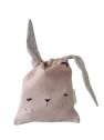 Fabelab Lunch Bag Rosa Mauve Bunny - Fabelab Lunch Bag Rosa Mauve Bunny