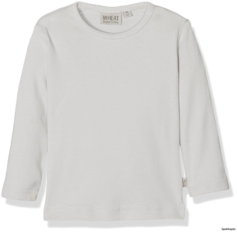 Wheat Basic Boy T-shirt Pearlblue