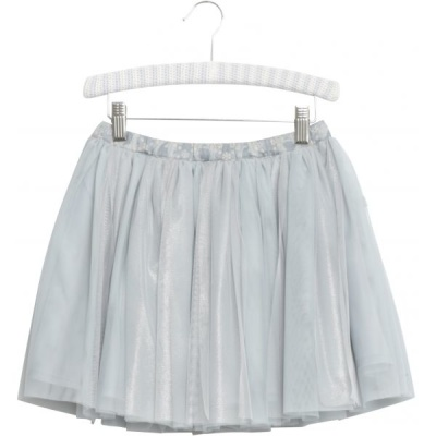 Wheat Skirt Tulle Frozen Pearl Blue - Wheat Skirt Tulle Frozen Pearl Blue ( Storlek 3 år )