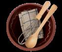 Maileg Utensils & Mixing Bowl - Maileg Utensils & Mixing Bowl