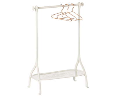 Maileg Clothes Rack Off White - Maileg Clothes Rack Off White