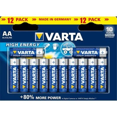 VARTA Alkaliskt Batteri AA 12-pack - VARTA Alkaliskt Batteri AA 12-pack