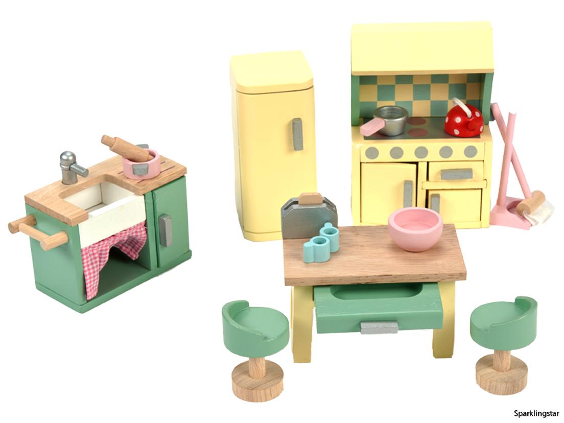 Le Toy Van Dockhusmöbler Kök Daisy Lane