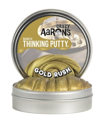 Crazy Aarons Thinking Putty Gold Rush - Crazy Aarons Thinking Putty Gold Rush