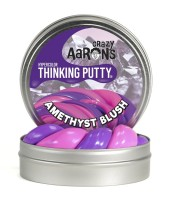 Crazy Aarons Thinking Putty Amethyst Blush