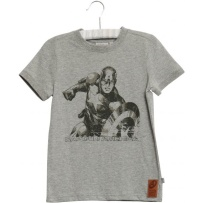 Wheat T-shirt Captain America