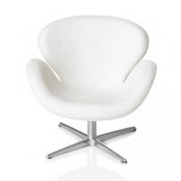 Minimii Arne Jacobsen Svanen Fåtölj Miniatyr ( Vit )