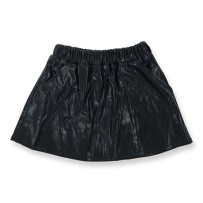 How To Kiss-a Frog Peach Skirt Black