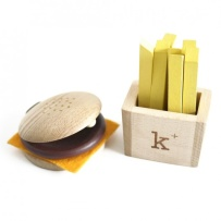 Kiko+ Hamburgare Set