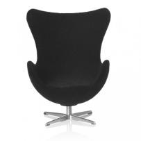 Minimii Arne Jacobsen Ägget Fåtölj Miniatyr ( Svart )