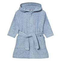 Wheat Bathrobe Stitches Ashley Blue