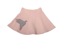 One We Like Skirt Origami Dove