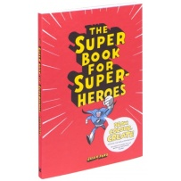 The Super Book for Superheroes (Målarbok)