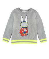 Livly Sweatshirt Bunny Astronaut Grey