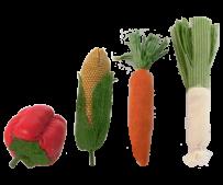 Maileg 4 Grönsaker