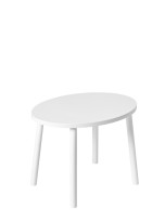 Nofred Mouse Table White
