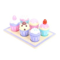 BigJigs Candy Floss Muffi Tray
