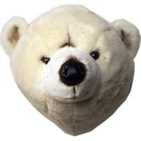 Brigbys Djurhuvud Isbjörn