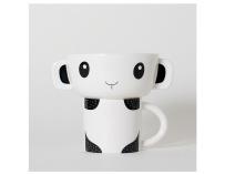 Wee Gallery Mealtime Stacking Set (Panda)