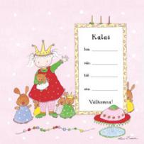 Lena Lindahl Kalas Kort (Flicka)