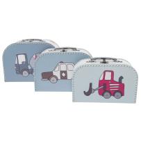 sebra Väskor 3 Pack Village (Turkos/Blå