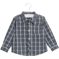 Wheat Shirt Olof Greyblue