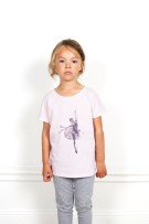 ONE WE LIKE Pop Ballet Pink T-shirt