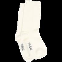 Wheat Socks Plain Ivory