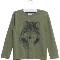 Wheat T-shirt Wolf