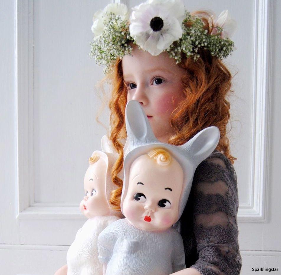 Lapin & Me Baby Lampa Grå