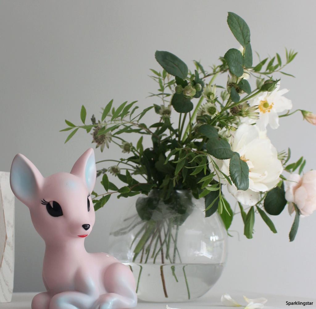 Lapin & Me Lampa Bambi Unicorn Rosa