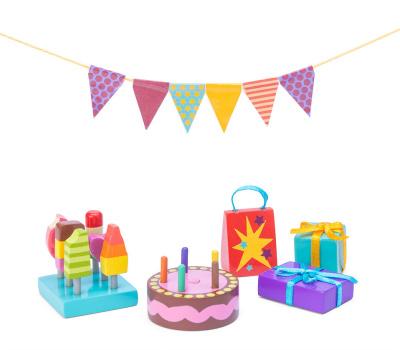 Le Toy Van Dockhus Partyset - Le Toy Van Dockhus Partyset
