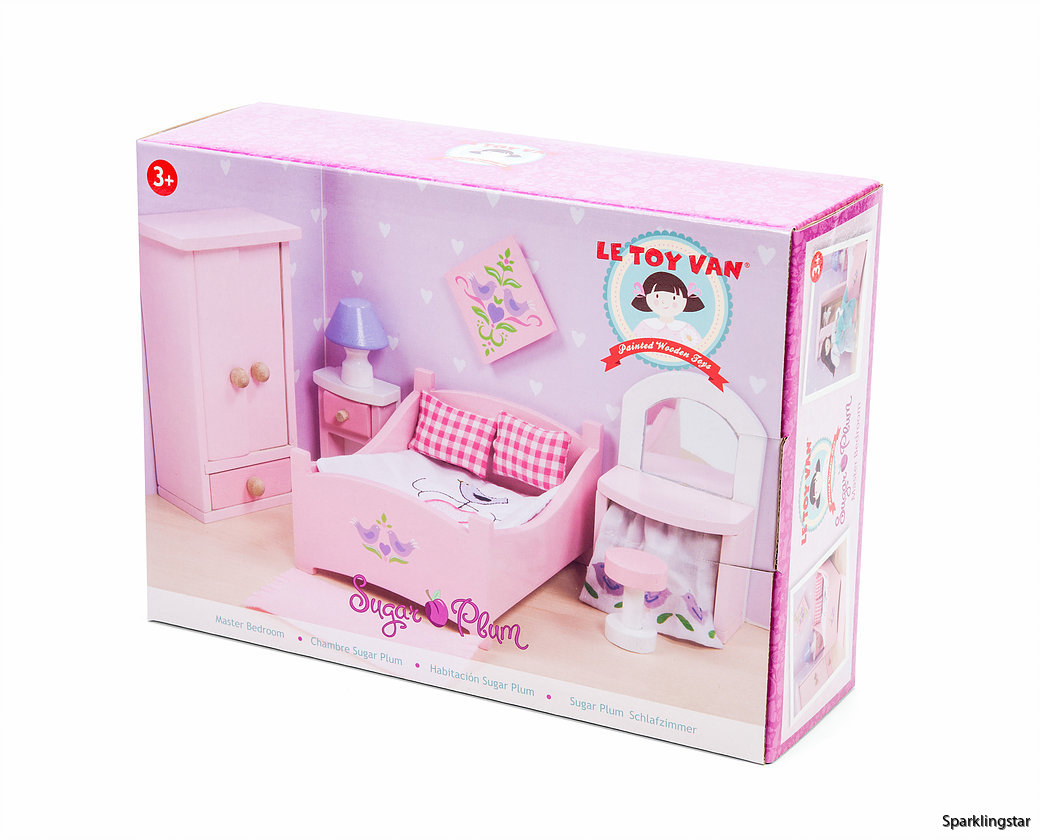 Le Toy Van Dockhusmöbler Sovrum Sugar Plum