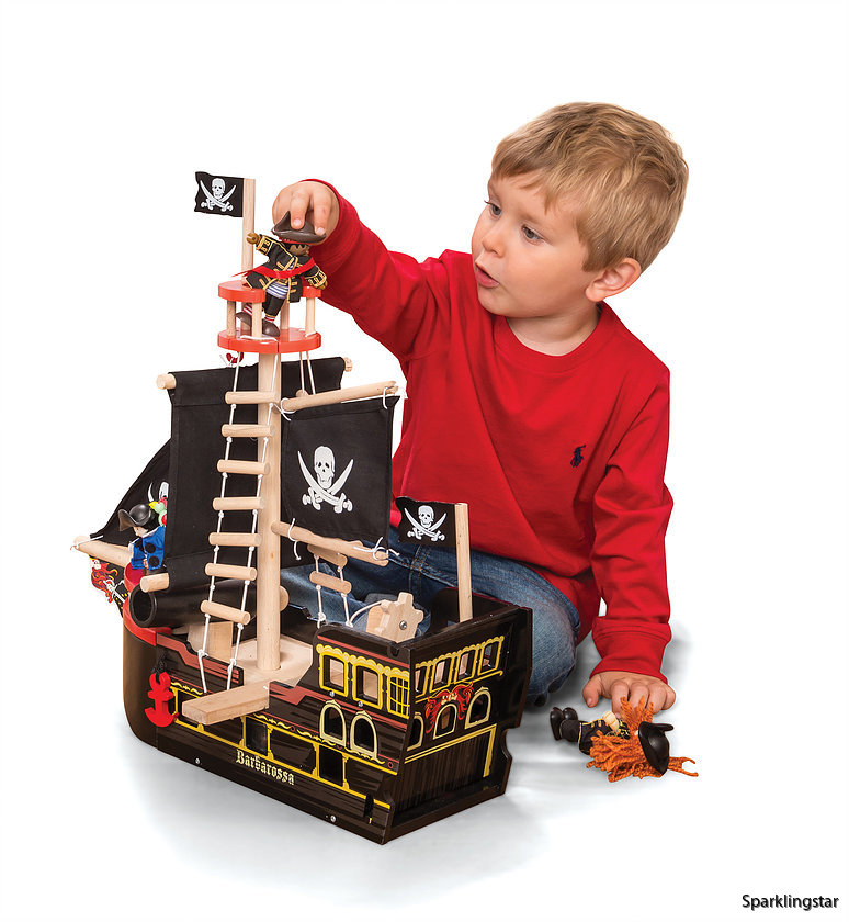 Le Toy Van Piratskepp Barbarossa