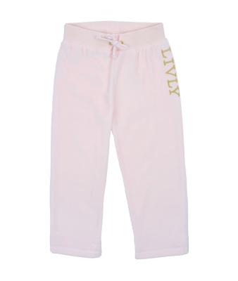 Livly Velour Pink Pants - Livly Velour Pink Pants ( Storlek 3 år )
