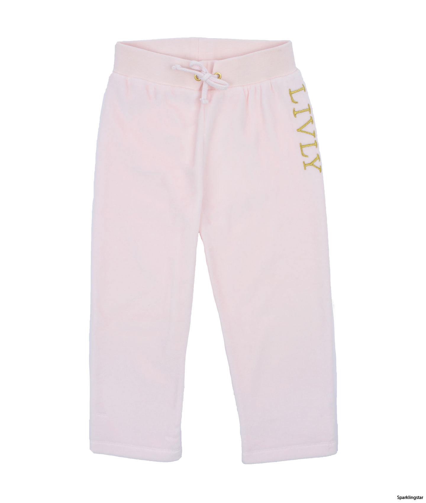 Livly Velour Pink Pants
