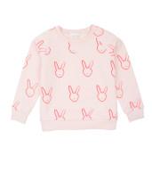 Livly Sweatshirt Pink Bunny