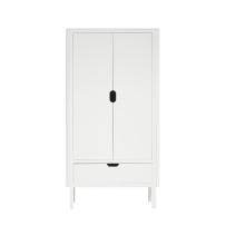 Sebra Garderob Dubbel Dörr