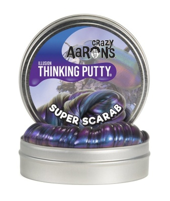 Crazy Aarons Thinking Putty Super Scarab Mini - Crazy Aarons Thinking Putty Super Scarab Mini