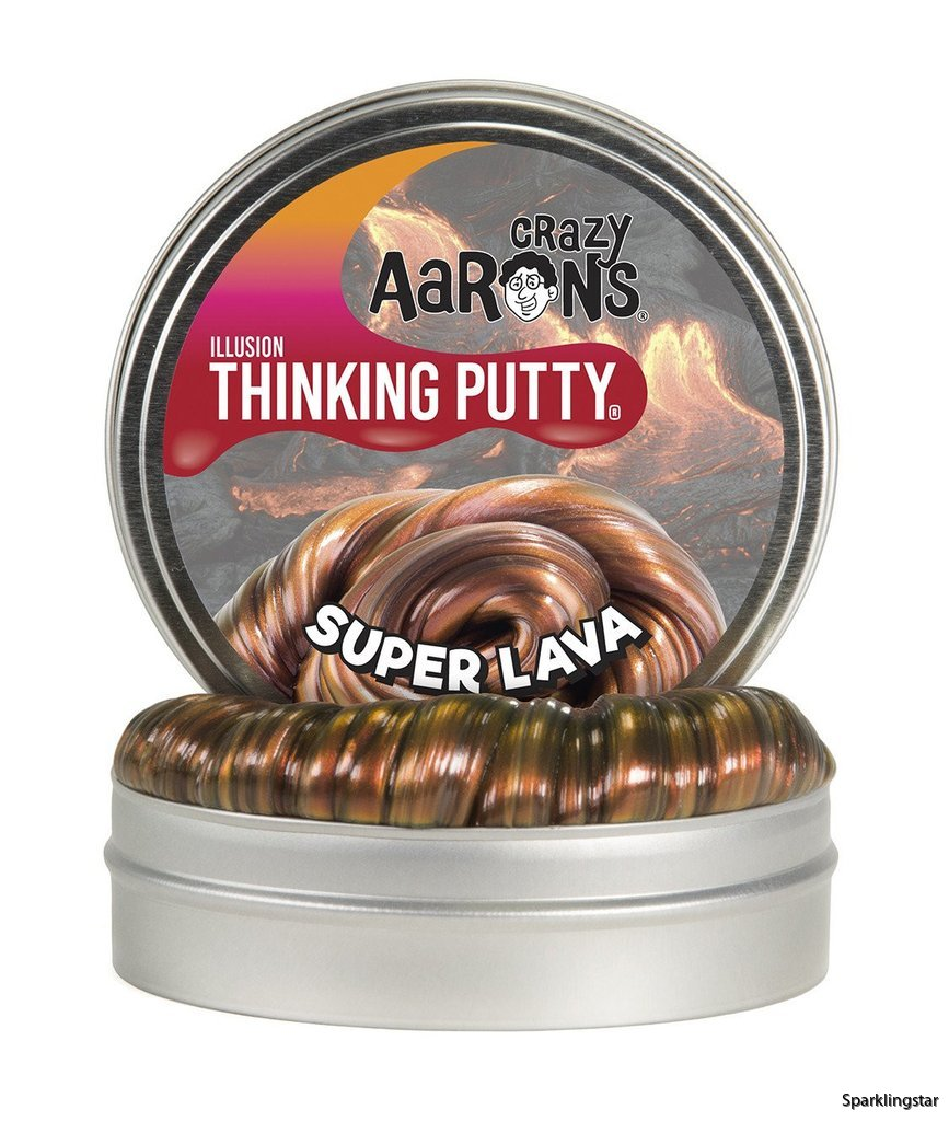 Crazy Aarons Thinking Putty Super Lava Mini