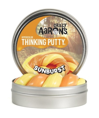 Crazy Aarons Thinking Putty Sunburst Mini - Crazy Aarons Thinking Putty Sunburst Mini
