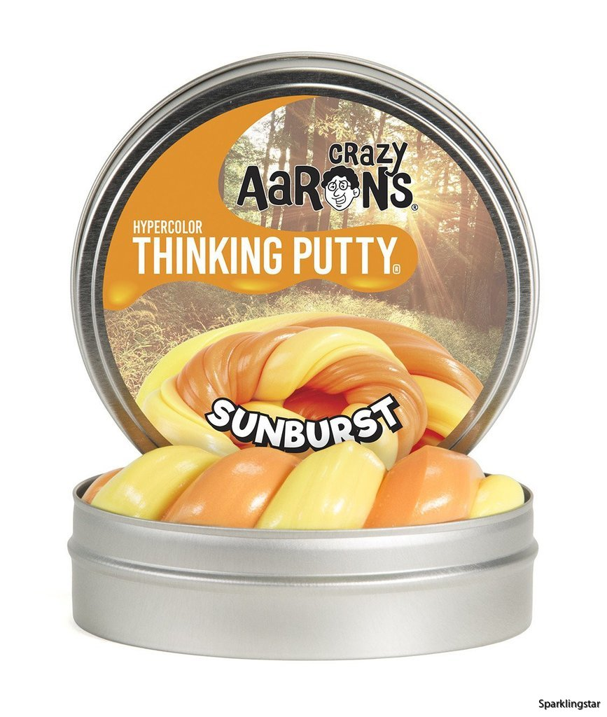 Crazy Aarons Thinking Putty Sunburst Mini