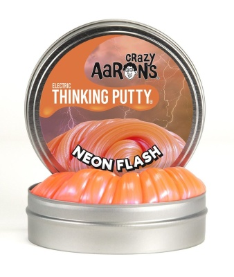 Crazy Aarons Thinking Putty Neon Flash Mini - Crazy Aarons Thinking Putty Neon Flash Mini