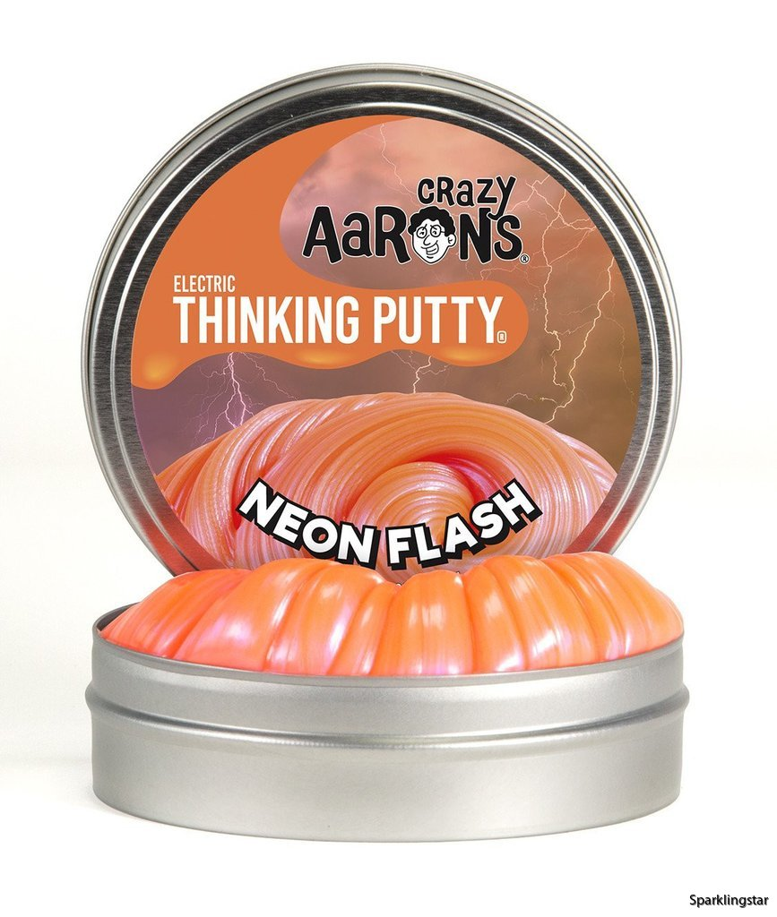 Crazy Aarons Thinking Putty Neon Flash Mini