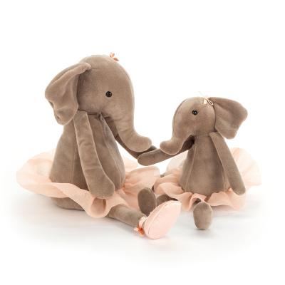 Jellycat Dancing Darcey Elephant - Jellycat Dancing Darcey Elephant ( 23 cm )